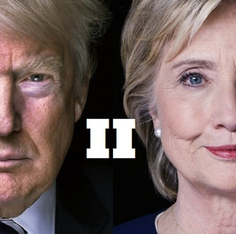 Clinton vs Trump II 757 x 850